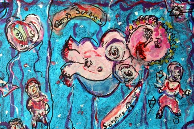 Pinturas recentes estão sendo apresentadas pela primeira vez ao público. Foto: Divulgação/PMPA