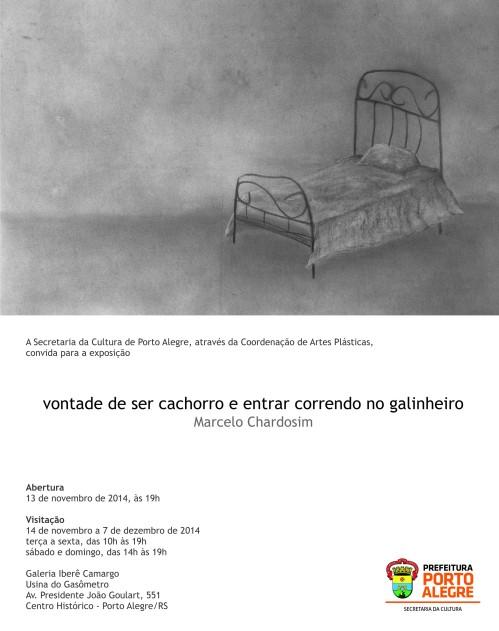 Convite Marcelo Chardosim - convite virtual