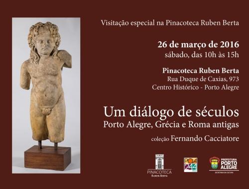 Abertura Pinacoteca sábado