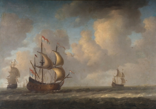 "RB 042: JERONIMUS VAN DIEST (Holanda, 1631 - 1673) - ""The Rejalma"" - 1673 - óleo sobre tela - acervo PINACOTECA RUBEN BERTA - foto: F.Zago-StudioZ"